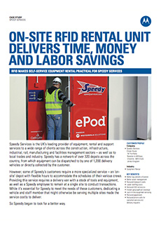 article screen grab about on-site rfid rental unit delivering time, money and labor savings to companies