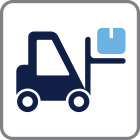 ProVIEW Icons Replenishment - illustration of forklift